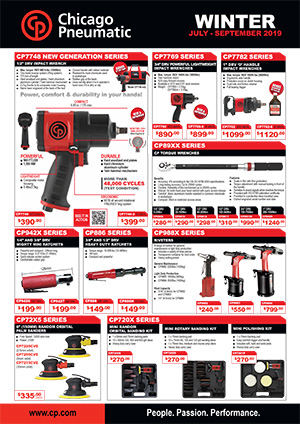 CHICAGO PNEUMATIC July to Sept