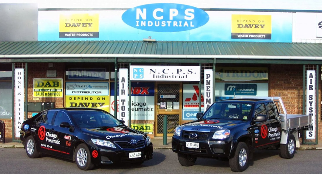 NCPS industrial shop front