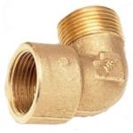 No.25C Brass Elbow