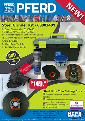 PFERD Steel Grinder Kit