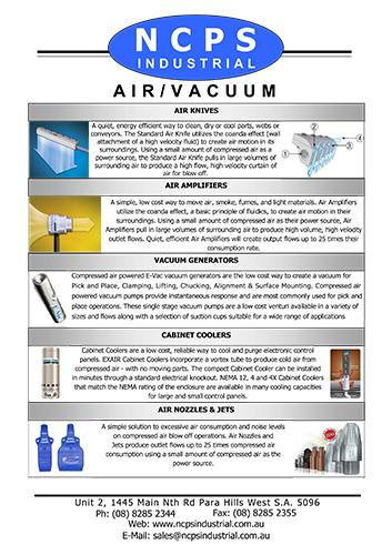 AIR / VACUUM