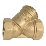 brass Y stainer