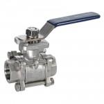 female ball valve lever level handle stainless steel