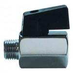 male/female mini ball valve