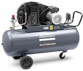Atlas Copco AB Automan Air Compressor AB21 AB31 240v aluminium