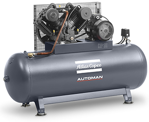 Atlas Copco AT Automan Air Compressor AT55 AT75 AT100 3phase Cast Iron