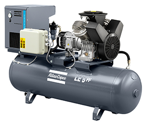 Atlas Copco LE & LT Series lubricated Piston Compressors